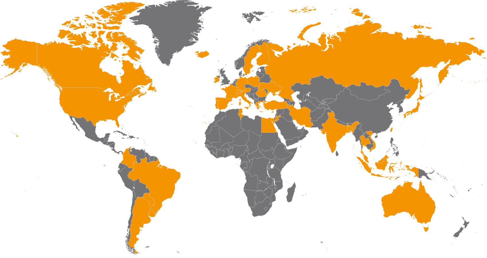 Folates map - GMT Fine Chemicals SA